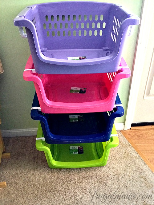 Home Organization Plastic Laundry Baskets Are Our Friends