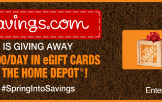 Home Depot Gift Cards Giveaway